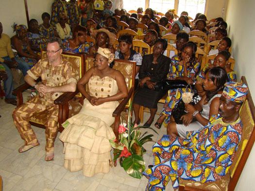 le trs sympathique maire qui vivait lui mme un heureux mariage depuis de longues annes avec une franaise nous a fait part de ses recommandations pour - Traiteur Camerounais Mariage